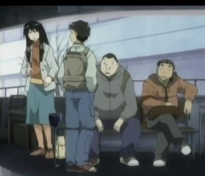 げんしけん: Einige der Hauptfiguren